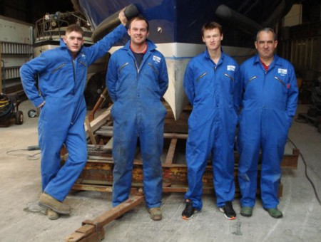 The Glasson Marine Services team